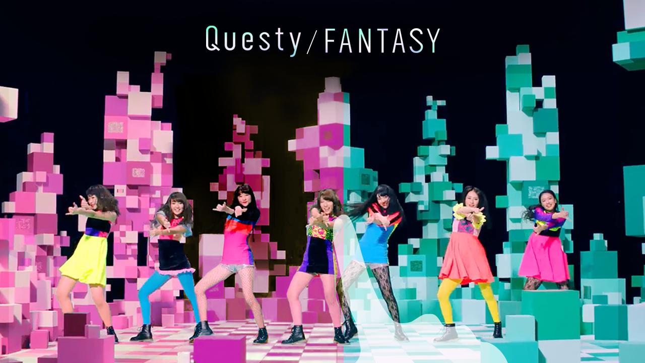 Questy「FANTASY」ミュージックビデオ