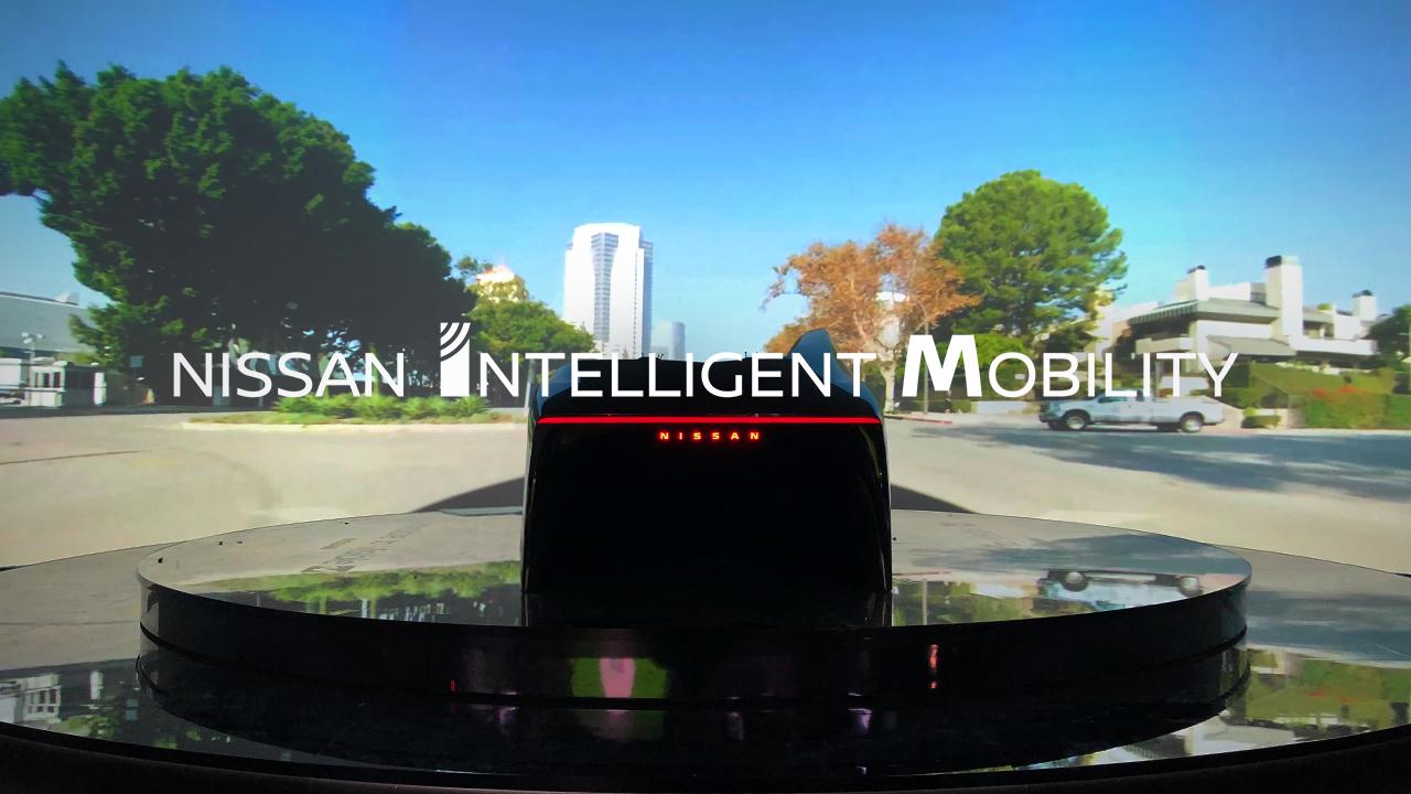 NISSAN「Invisible-to-Visible(I2V)ドライビング」プレゼンテーション