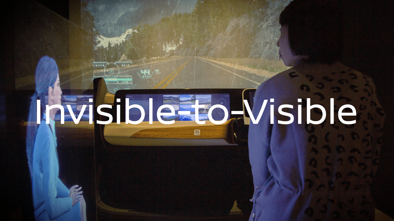 NISSAN Invisible to Visible~未来の自動運転~