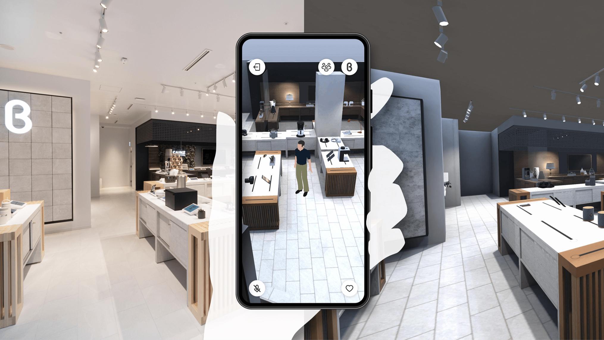 「Virtualb8ta」DigitalTwinShoppingExperience,2021